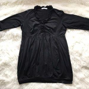 Anne Fontaine Emmanuelle Bubble Hem Dress